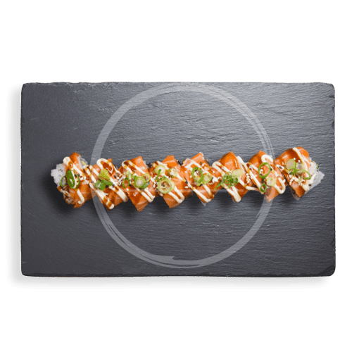 Foto Soft Shell Salmon Roll